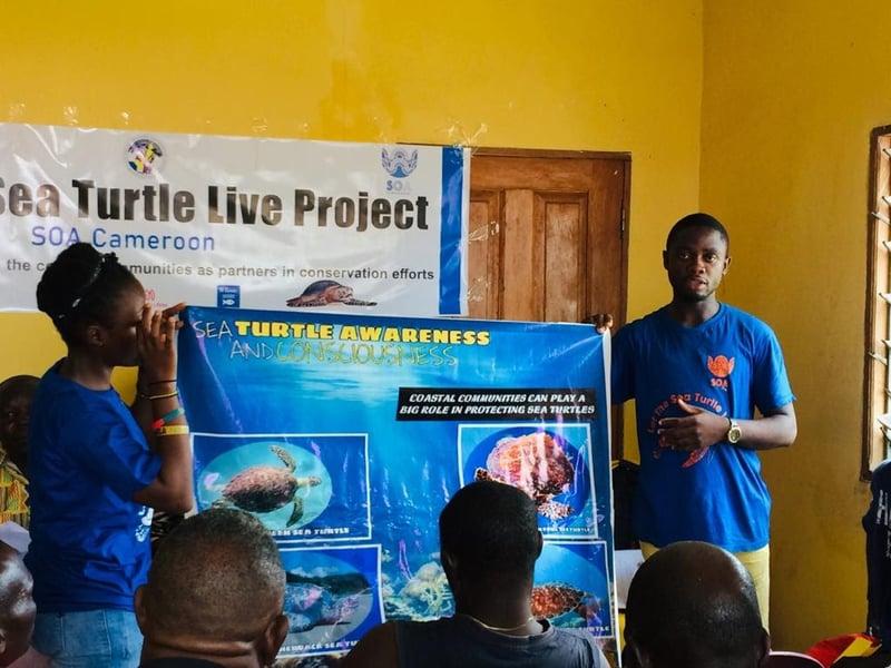 Forbi Perise Let the Sea Turtle Live