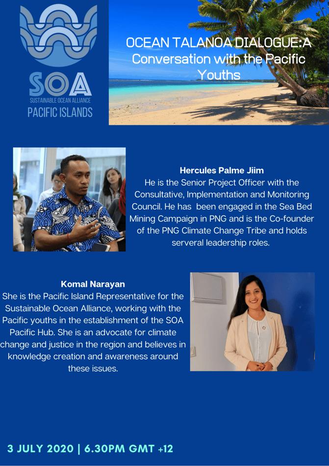 Ocean Talanoa Dialogue 3 July 2020