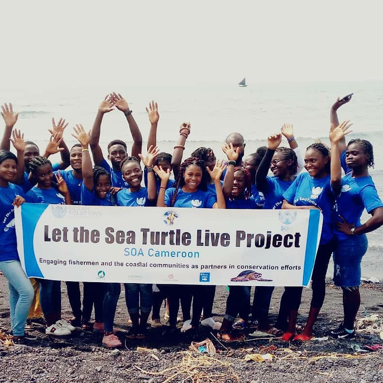 Let the Sea Turtle Live Cameroon